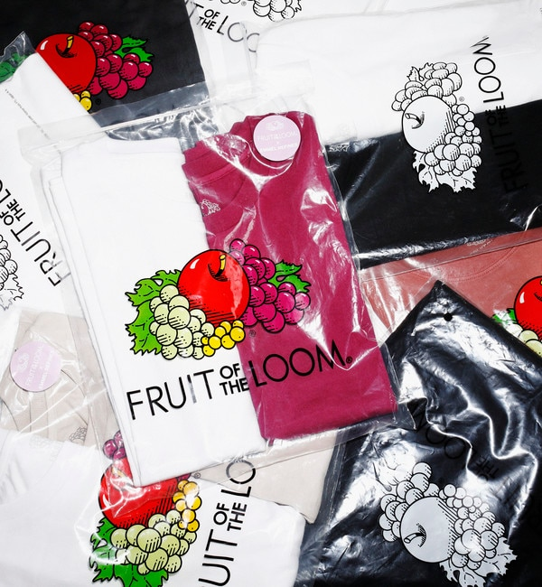 <アイルミネ>【別注】FRUIT OF THE LOOM × EMMEL REFINES Tシャツ&ノースリーブ Pack / フルーツオブザルーム画像