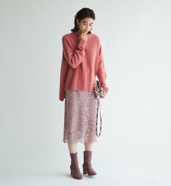 【エメルリファインズ/EMMEL REFINES】 ◆FC ケミカルレースIラインスカート