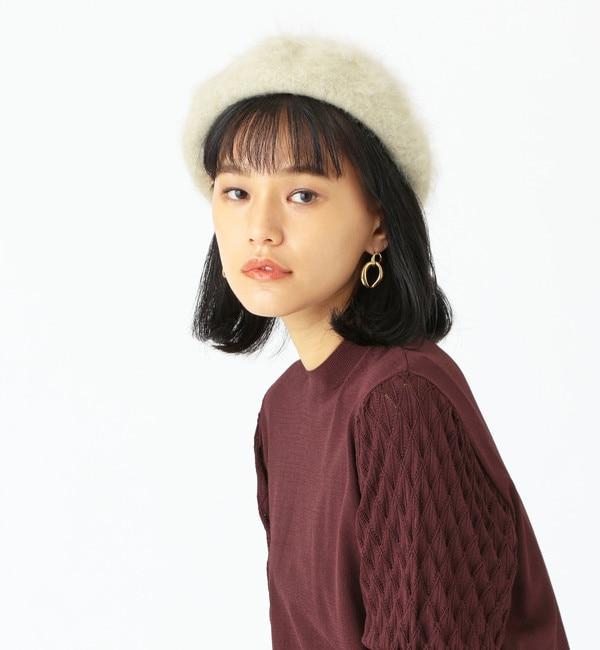 【エメルリファインズ/EMMEL REFINES】 Piedi Nudi(ピエディヌーディー)ANG ベレー帽