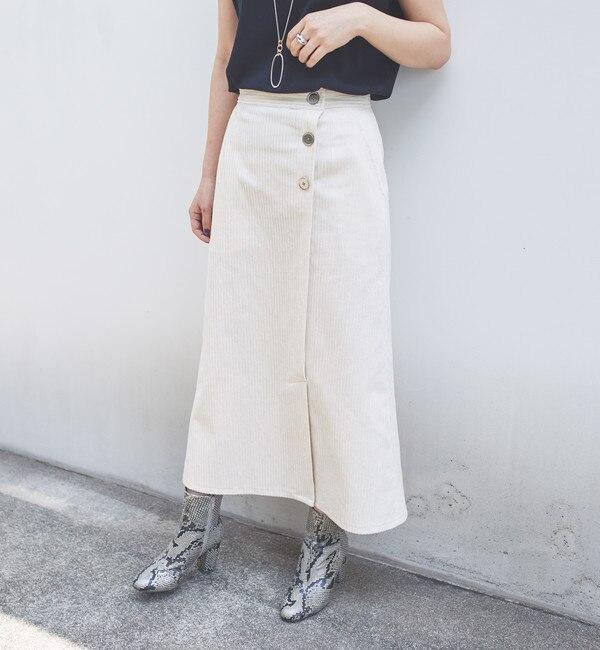 【エメルリファインズ/EMMEL REFINES】 SMF PE/C/RY コーデュロイスカート