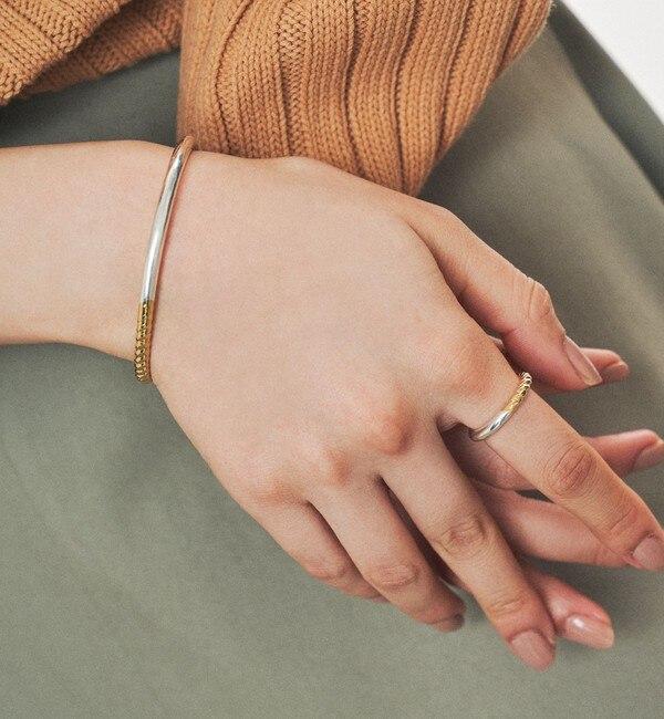 【エメルリファインズ/EMMEL REFINES】 PHILIPPE AUDIBERT(フィリップオーディベール)アシメラインリング ミックス / 指輪