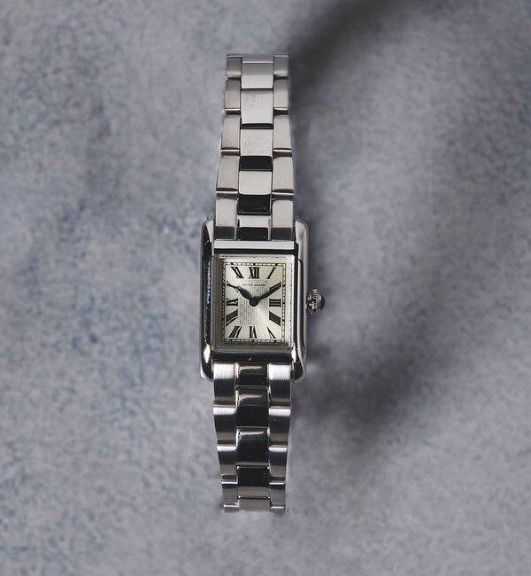 【ユナイテッドアローズ/UNITED ARROWS】 UAB スクエア メタル 腕時計