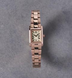 <アイルミネ>【ユナイテッドアローズ/UNITED ARROWS】 UAB スクエア メタル 腕時計 [送料無料]画像