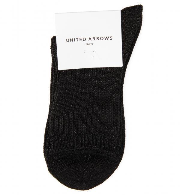 【ユナイテッドアローズ/UNITED ARROWS】 UAW ラメ ロークルー [3000円(税込)以上で送料無料]
