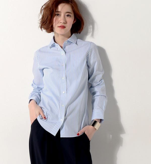 【ユナイテッドアローズ/UNITED ARROWS】 ○UBBT ALBINI レギュラーシャツ [送料無料]