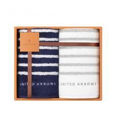 【ユナイテッドアローズ/UNITED ARROWS】 UA TOWEL ボーダー ギフトセット [送料無料]