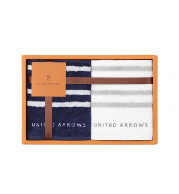 【ユナイテッドアローズ/UNITED ARROWS】 UA TOWEL ボーダー ギフトセット [3000円(税込)以上で送料無料]