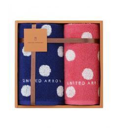 【ユナイテッドアローズ/UNITED ARROWS】 UA TOWEL ポルカドット ギフトセット [3000円(税込)以上で送料無料]