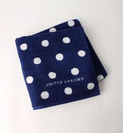 【ユナイテッドアローズ/UNITED ARROWS】 UA TOWEL ポルカドット バスタオル [送料無料]