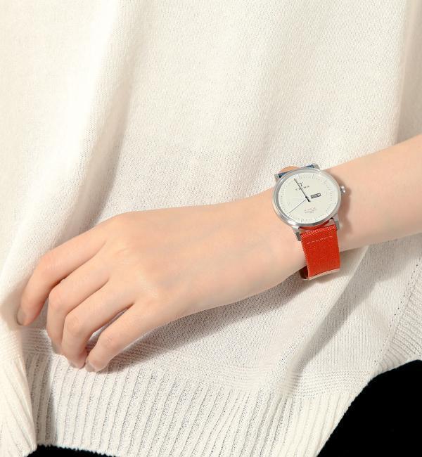 【ユナイテッドアローズ/UNITED ARROWS】 KLINGA 2カラーキャンバス 時計 [送料無料]