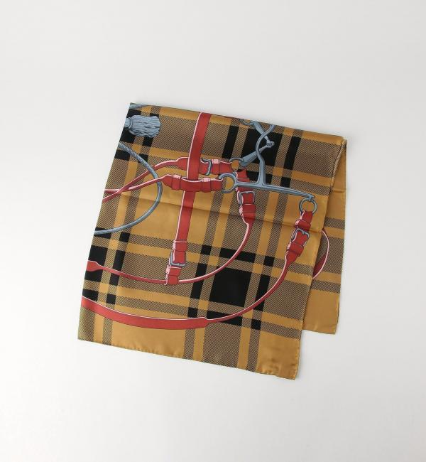 manipuri シルク スカーフ