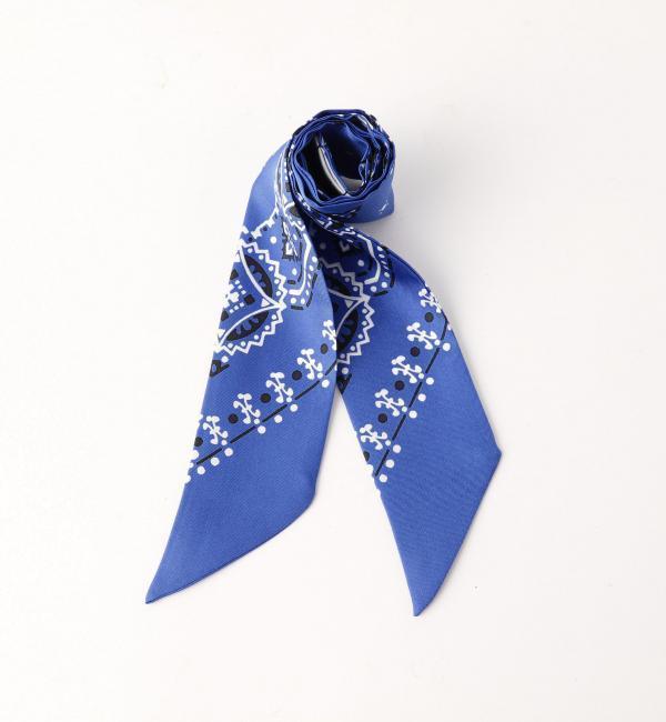 【ユナイテッドアローズ/UNITED ARROWS】 シルク スカーフ 85×5 [送料無料]