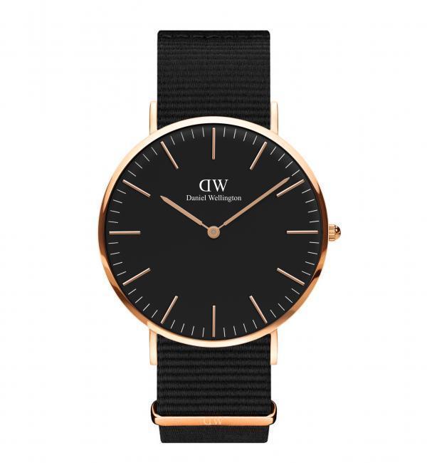 【ユナイテッドアローズ/UNITED ARROWS】 BLACK MODEL Cornwall 40MM 腕時計† [送料無料]
