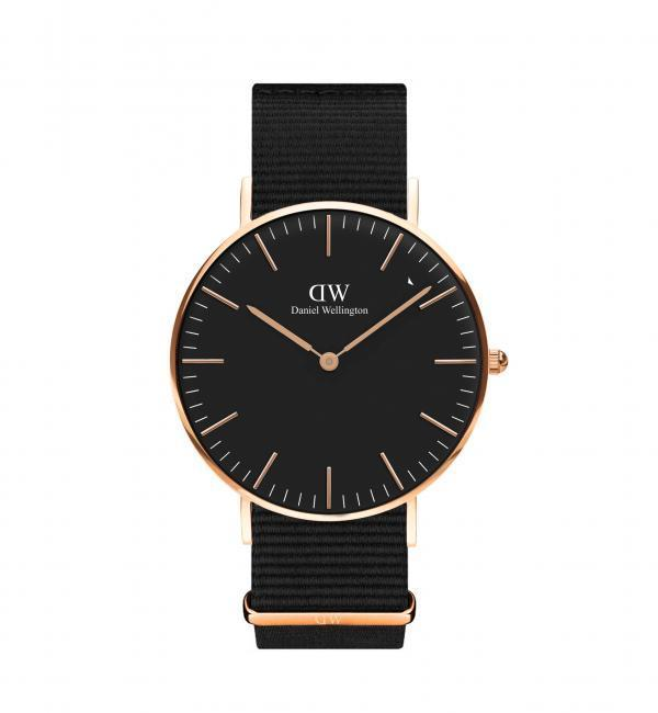 【ユナイテッドアローズ/UNITED ARROWS】 BLACK MODEL Cornwall 36MM 腕時計† [送料無料]