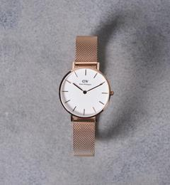 【ユナイテッドアローズ/UNITED ARROWS】 PETITE WHITE 腕時計32mm† [送料無料]