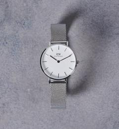 <アイルミネ>【ユナイテッドアローズ/UNITED ARROWS】 <Daniel Wellington(ダニエル ウェリントン)>PETITE WHITE 腕時計32mm† [送料無料]画像