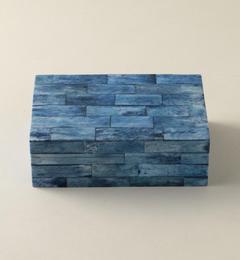 【ユナイテッドアローズ/UNITED ARROWS】 モザイクボックス ブルー S [送料無料]