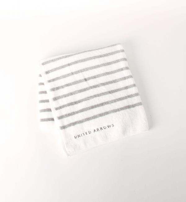 【ユナイテッドアローズ/UNITED ARROWS】 UA TOWEL ベロア ボーダー バスタオル [送料無料]
