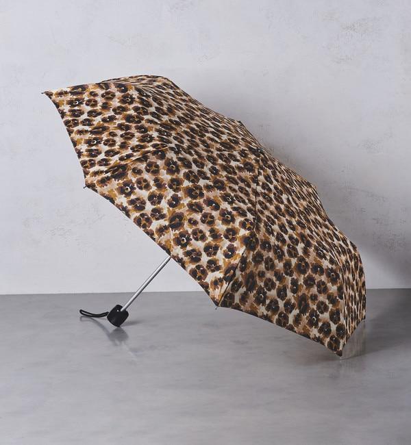 【ユナイテッドアローズ/UNITED ARROWS】 <FULTON(フルトン)>レオパード柄 折りたたみ傘