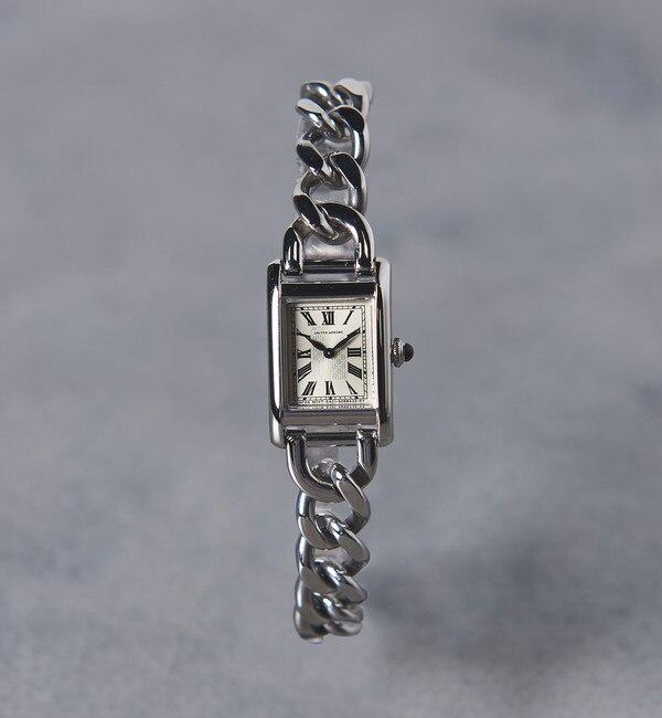 【ユナイテッドアローズ/UNITED ARROWS】 UBCB スクエア メタル チェーン 腕時計†