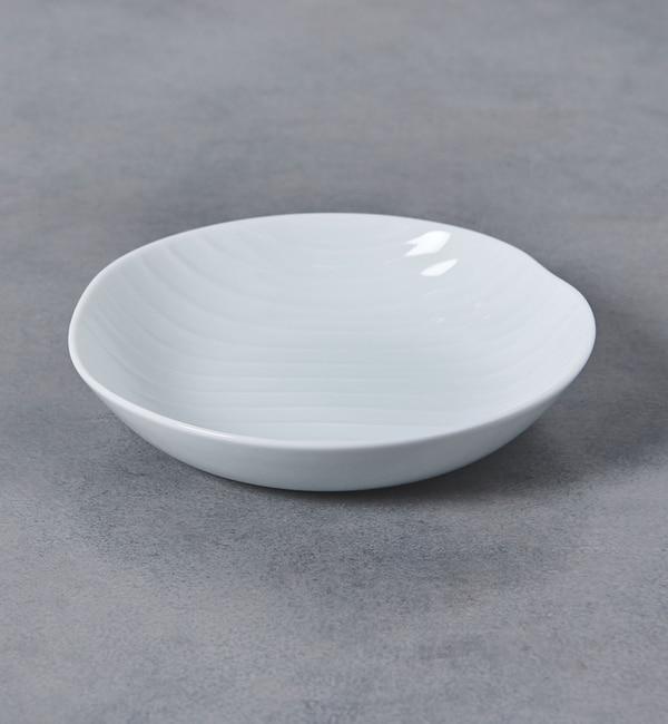 【ユナイテッドアローズ/UNITED ARROWS】 <森正洋>シェル 取り皿 白磁