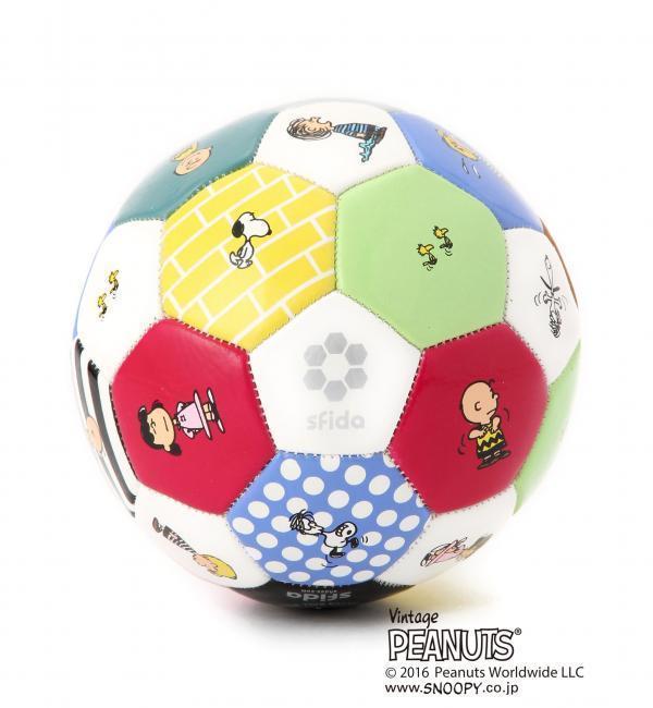 【グリーンレーベルリラクシング/green label relaxing】 PEANUTSサッカーボール [送料無料]
