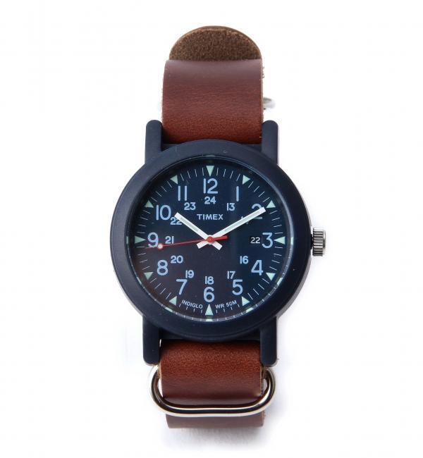 【グリーンレーベルリラクシング/green label relaxing】 別注 [タイメックス] TIMEX GLR O/CAMPER HW 腕時計 [送料無料]