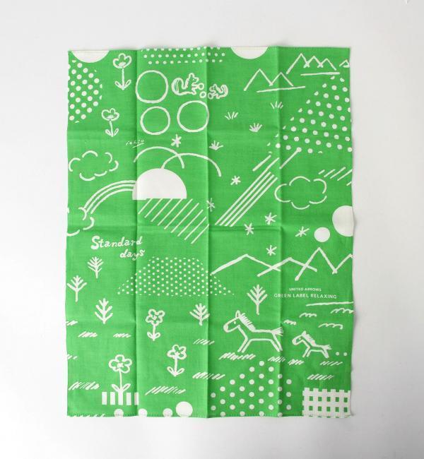 【グリーンレーベルリラクシング/green label relaxing】 【HAMAMONYO】STANDARD DAYS テヌグイハンカチ [3000円(税込)以上で送料無料]