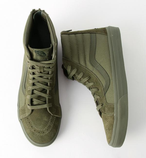 【グリーンレーベルリラクシング/green label relaxing】 [VANS] SC VANS MONO SK8-HI ZIP スニーカー [送料無料]