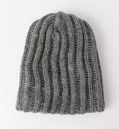 【グリーンレーベルリラクシング/green label relaxing】 [ブラックシープ] BC B/SHEEP CHUNKY HAT ニットキャップ [3000円(税込)以上で送料無料]
