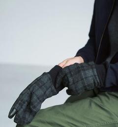 【グリーンレーベルリラクシング/green label relaxing】 BC GLR チェック グローブ RIB / 手袋 [送料無料]
