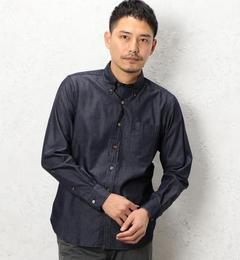 【グリーンレーベルリラクシング/green label relaxing】 BC INDIGO DRESS/SER BD-N シャツ [送料無料]