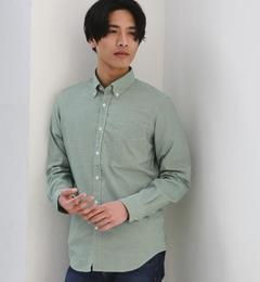 【グリーンレーベルリラクシング/green label relaxing】 KT GIZA PIN/OX GGM BD シャツ [送料無料]