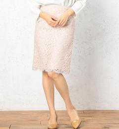 【グリーンレーベルリラクシング/greenlabelrelaxing】RFscalloplaceTTスカート[送料無料]