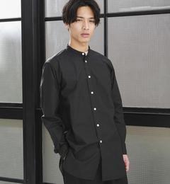 【グリーンレーベルリラクシング/greenlabelrelaxing】【WEB限定】SC★★TYPE/Wロングバンドカラーシャツ[送料無料]