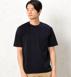 【グリーンレーベルリラクシング/green label relaxing】 KC HI/G PONTE ポケット C/N 半袖 Tシャツ [送料無料]