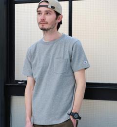 【グリーンレーベルリラクシング/green label relaxing】 別注 [チャンピオン] BC CHAMPION GLR ROCHE PK Tシャツ [送料無料]
