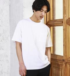 【グリーンレーベルリラクシング/green label relaxing】 BC HEAVY/W ポケット C/N S/S Tシャツ [送料無料]
