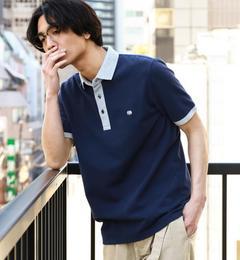 【グリーンレーベルリラクシング/green label relaxing】 【WEB限定】BC★★DRY COMBI/COL ポロシャツ  [送料無料]