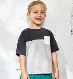 【グリーンレーベルリラクシング/greenlabelrelaxing】カラーブロックビッグTシャツ[3000円(税込)以上で送料無料]
