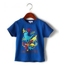 【グリーンレーベルリラクシング/greenlabelrelaxing】カラーダイナソープリントTシャツ[3000円(税込)以上で送料無料]