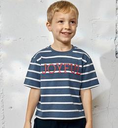 【グリーンレーベルリラクシング/greenlabelrelaxing】【KIDS】ボーダージョイフルビッグTシャツ[3000円(税込)以上で送料無料]