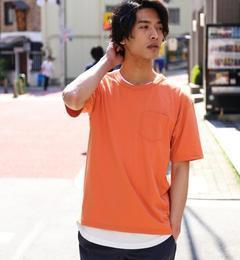 【グリーンレーベルリラクシング/green label relaxing】 KC DRY メッシュタンクトップ / レイヤード Tシャツ  [送料無料]