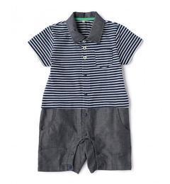 【グリーンレーベルリラクシング/green label relaxing】 ボーダーポロシャツ×パンツ T-ALL [送料無料]