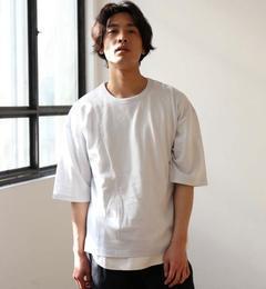 【グリーンレーベルリラクシング/green label relaxing】 BC C/R HEAVY/W BIG-T /ヘビーウェイト ビッグ Tシャツ [送料無料]
