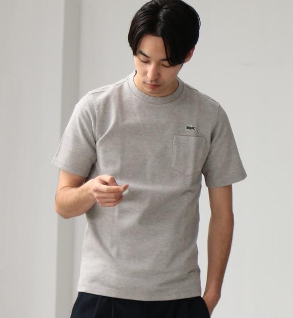 【グリーンレーベルリラクシング/green label relaxing】 [ラコステ] BC LACOSTE H/カノコPKTTH219 Tシャツ