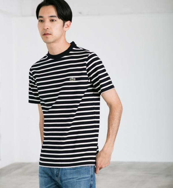 【グリーンレーベルリラクシング/green label relaxing】 [ラコステ] BC LACOSTE H/カノコBORTH218 Tシャツ