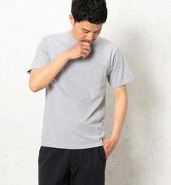 【グリーンレーベルリラクシング/green label relaxing】 BC GLR SLD CN ポケット SS HG Tシャツ [送料無料]