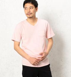 【グリーンレーベルリラクシング/green label relaxing】 BC GLR SLD Vネック ポケット SS Tシャツ [送料無料]
