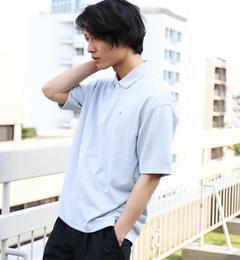 【グリーンレーベルリラクシング/green label relaxing】 BC PE/KANOKO BIG ポロシャツ  [送料無料]
